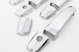 Auto Clover Chrome Exterior Door Handle Covers Trim Set for Vauxhall Opel Mokka