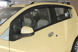 Auto Clover Wind Deflectors Set for Chevrolet Spark 2010 - 2015 (4 pieces)