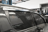 Auto Clover Chrome Wind Deflectors Set for Ford Ranger 2012+ (4 pieces)