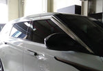 Auto Clover Chrome Wind Deflectors Set for Range Rover Velar 2017+ (6 pieces)