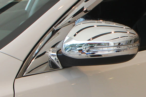Auto Clover Chrome Wing Mirror Cover Trim for Kia Optima 2010 - 2015 LED TYPE