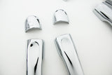 Auto Clover Chrome Door Handle Cover Trim Set for Renault Megane 2008 - 2016