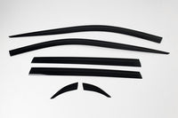 Auto Clover Wind Deflectors Set for Toyota Rav 4 2019+ (6 pieces)