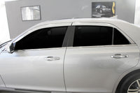 Auto Clover Chrome Wind Deflectors Set for Chrysler 300C 2012+ (4 pieces)