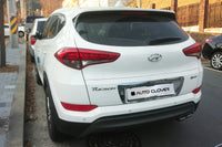 Auto Clover Chrome Rear Number Plate Trim for Hyundai Tucson 2015 - 2018