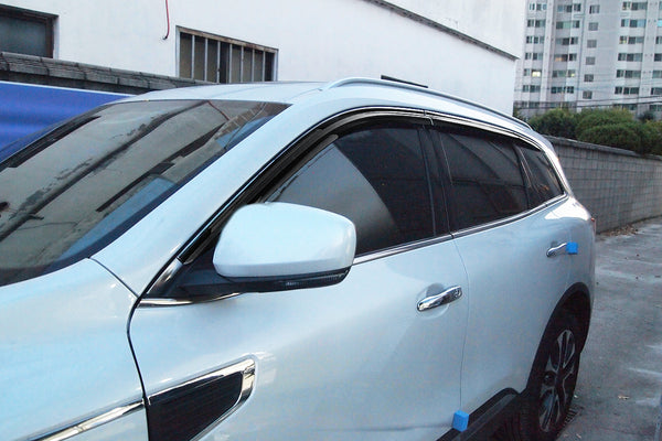 Auto Clover Wind Deflectors Set for Renault Koleos 2016+ (6 pieces)