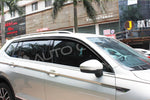 Auto Clover Wind Deflectors Set for Volkswagen Tiguan Allspace 2016+ (6 pieces)