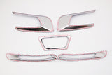 Auto Clover Chrome Front & Rear Fog Brake Light Trim for Ssangyong Tivoli 2014+