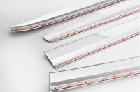 Auto Clover Chrome Wind Deflectors Set for Land Rover Freelander 2 2007 - 2015