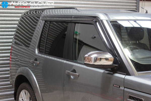 Auto Clover Wind Deflectors Set for Land Rover Discovery 3 & 4 (4 pieces)