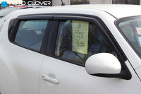 Auto Clover Wind Deflectors Set for Nissan Juke 2010 - 2019 (4 pieces)