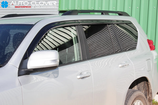 Auto Clover Wind Deflector Set for Toyota Land Cruiser 150 2009 - 2015 (6 pieces)