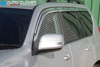 Auto Clover Chrome Wind Deflectors for Toyota Land Cruiser 150 2009 - 2015 6pcs
