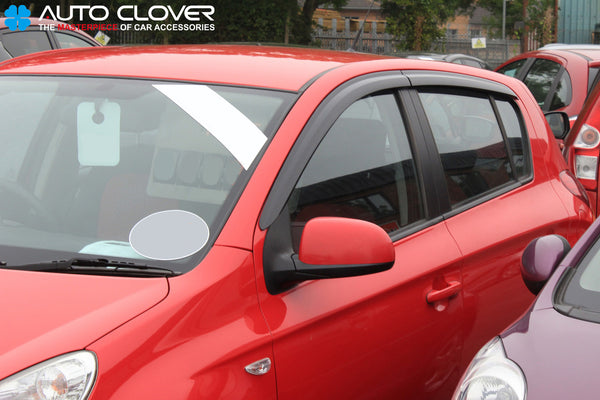 Auto Clover Wind Deflectors Set for Hyundai i20 2008 - 2014  (4 pieces)