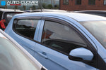 Auto Clover Wind Deflectors Set for Vauxhall Viva (4 pieces)
