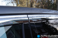 Auto Clover Chrome Wind Deflectors for Range Rover Evoque 2011 - 2018 (6 pieces)