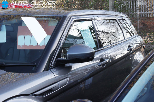Auto Clover Premium Wind Deflectors for Range Rover Evoque 2011 - 2018 (6 piece)