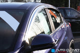 Auto Clover Chrome Wind Deflectors Set for Honda HR-V 2014+ (4 pieces)