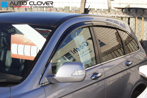 Auto Clover Wind Deflectors Set for Honda CRV 2007 - 2012 (6 pieces)