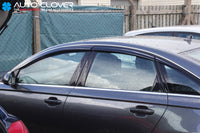 Auto Clover Wind Deflectors Set for Audi A6 2011 - 2018
