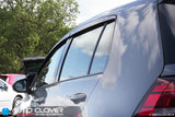 Auto Clover Wind Deflectors Set for Volkswagen Golf MK7 / MK8 Hatchback 5 Door