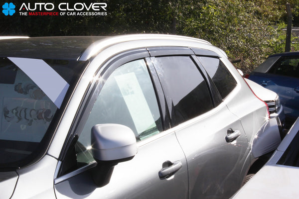 Auto Clover Premium Wind Deflectors Set for Volvo XC60 2018+ (6 pieces)