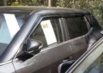 Auto Clover Wind Deflectors Set for Ssangyong Tivoli 2014+ (4 pieces)