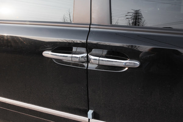 Auto Clover Chrome Door Handle Cover Trim Set for Kia Sedona 2006 - 2014