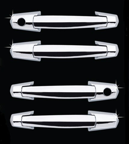Auto Clover Chrome Door Handle Covers Trim Set for Hyundai Terracan 2001 - 2007