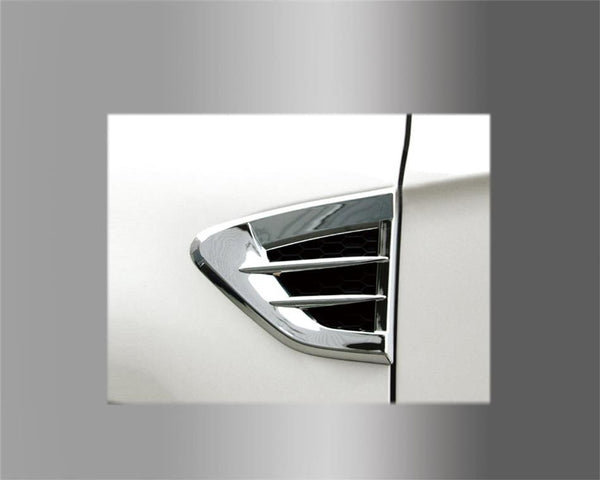 Auto Clover Chrome side vent cover trim set for Chevrolet Captiva 2007 - 2011