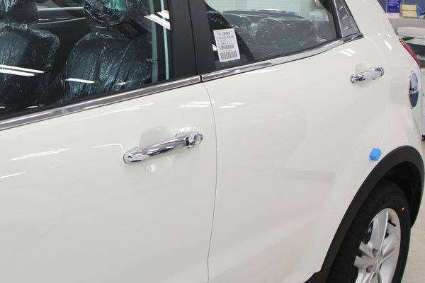 Auto Clover Chrome Key-Less Door Handle Trim for Ssangyong Korando C 2011 - 2019