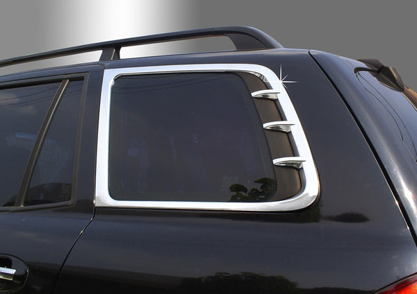 Auto Clover Chrome Wheel Arch Trim Set for Hyundai Santa Fe 2001-2006