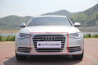 Auto Clover Chrome Grille Cover Trim Set for Audi A6 2011 - 2018