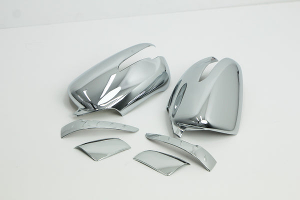 Auto Clover Chrome Wing Mirror Cover Trim Set for Kia Carens 2013+