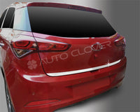 Auto Clover Chrome Boot Trunk Trim Set for Hyundai i20 2015 - 2019