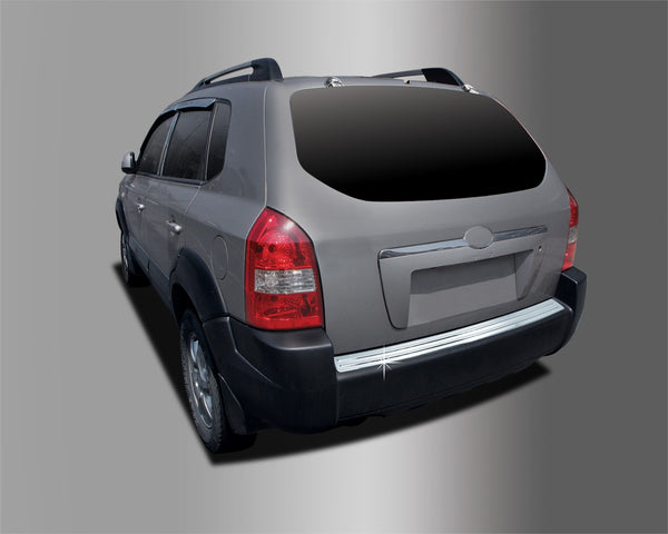 Auto Clover Chrome Rear Bumper Boot Protector for Hyundai Tucson 2004 - 2010