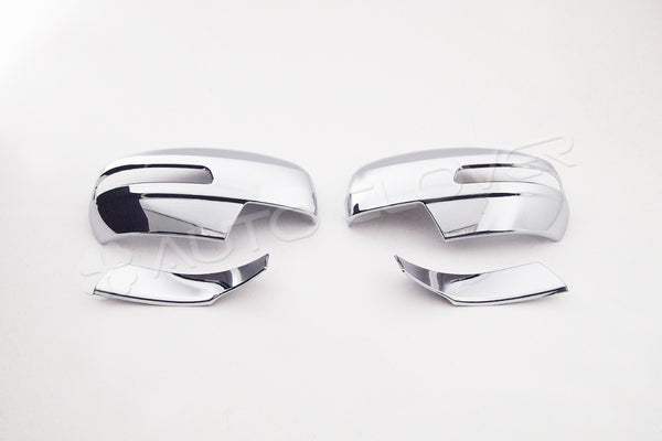 Auto Clover Chrome Wing Mirror Cover Trim Set for Suzuki Swift 2010 - 2016
