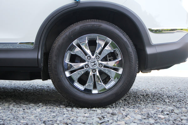Auto Clover Chrome Alloy Wheel Covers Trim Set for Honda CRV 2012 - 2016