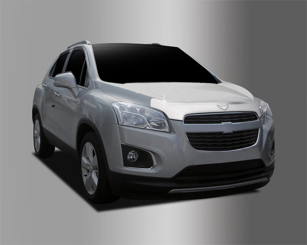 Auto Clover Chrome Bonnet Hood Guard Set for Chevrolet Trax 2012 - 2016