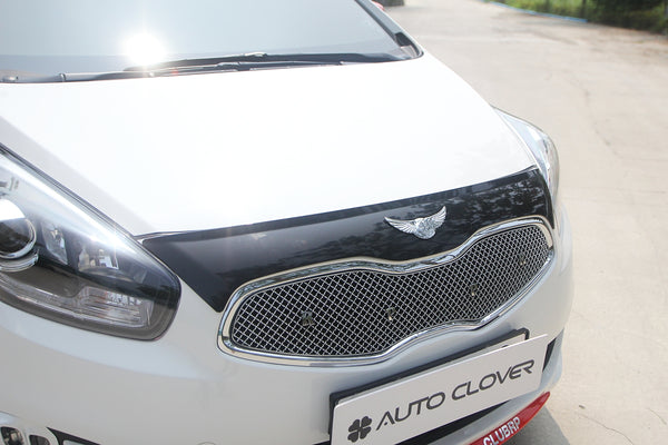 Auto Clover Bonnet Guard Protector Set for Kia Carens 2013+