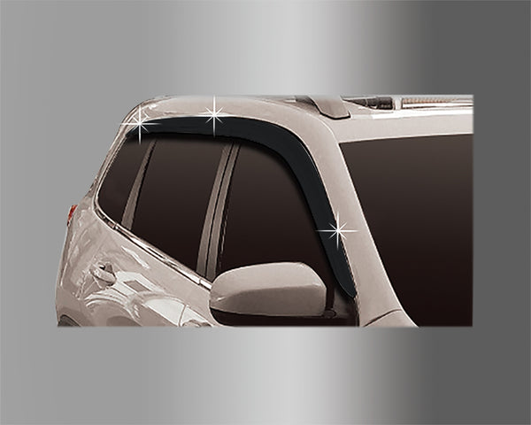 Auto Clover Wind Deflectors Set for Jeep Cherokee 2014+ (6 pieces)