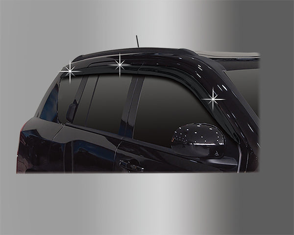 Auto Clover Wind Deflectors Set for Jeep Compass 2006 - 2017 (6 pieces)