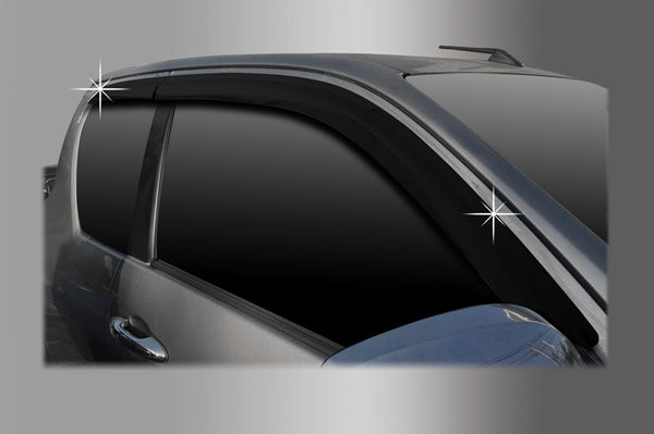 Auto Clover Wind Deflectors Set for Toyota Hilux 2016+ Extra Cab (4 pieces)