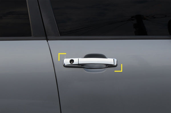 Auto Clover Chrome Exterior Door Handle Covers Trim Set for SsangYong Rodius