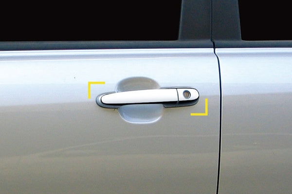 Auto Clover Chrome Exterior Door Handle Trim Covers for Kia Sportage 2005 - 2010