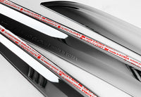 Auto Clover Chrome Wind Deflectors Set for Mercedes ML W166 2011 - 2019 (4 pcs)