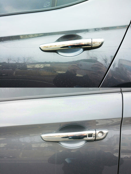 Auto Clover Chrome Door Handle Cover Trim Set for Hyundai i30 2017+