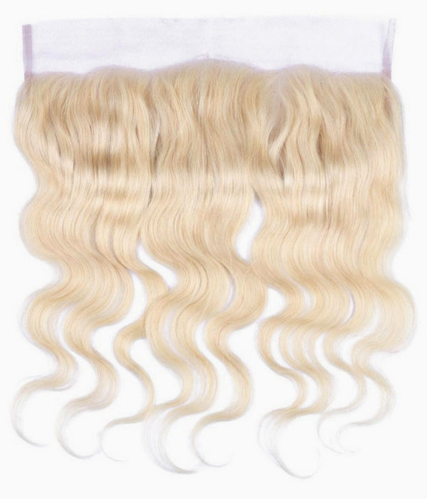 Russian Blonde Body Wave 13x4 Lace Frontal