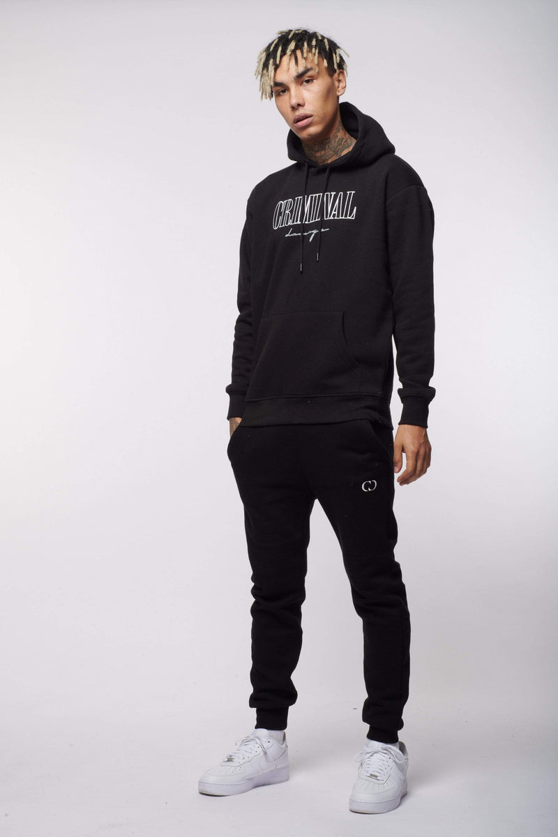 BOY LONDON HOODIES CAMDEN HOODIE BLACK
