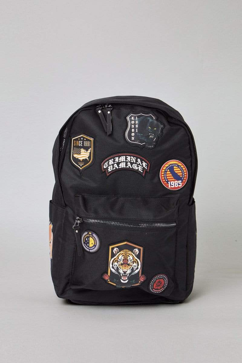 Criminal Damage BAG Black / ONE SIZE Shield Bag - Black/Multi